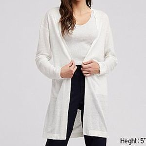 Uniqlo Sheer Cardigan/Cover-Up